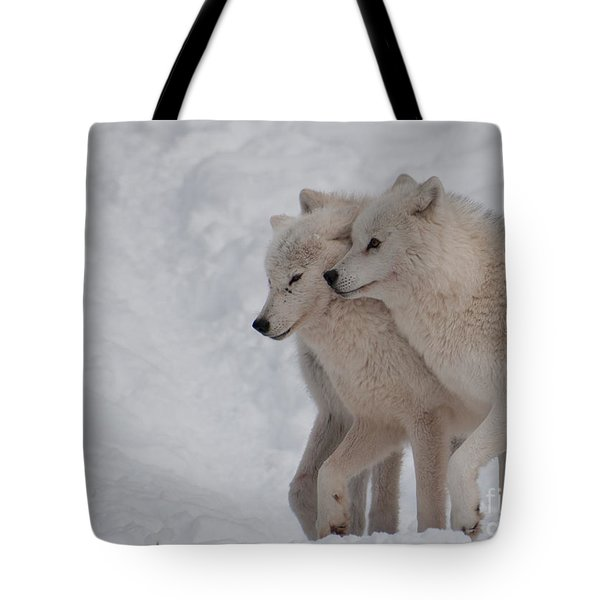 Tote Bag featuring the photograph Joined At The Hip by Bianca Nadeau