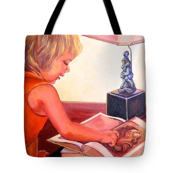 Jojo And Renoir Tote Bag by Jeanette Jarmon