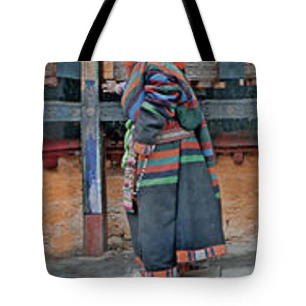Jokhang Pilgrims Tote Bag