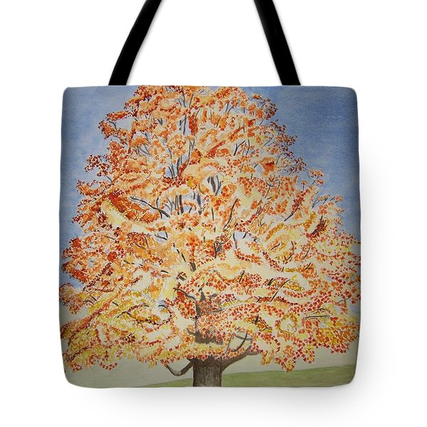 Jolanda's Maple Tree Tote Bag