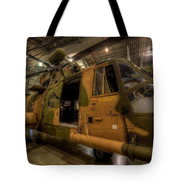 Jolly Green Hh-3e Rescue Tote Bag