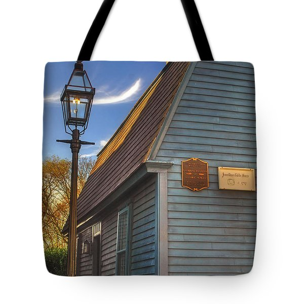 Jonathan Gibbs House Tote Bag by Joann Vitali