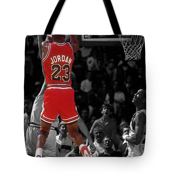 Jordan Buzzer Beater Tote Bag by Brian Reaves