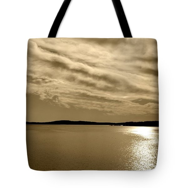 Tote Bag featuring the photograph Jordan Lake  Nc by Kelly Nowak