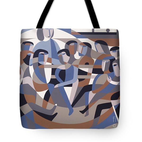 Jordan Quaker Meeting 2 Tote Bag by Ron Waddams