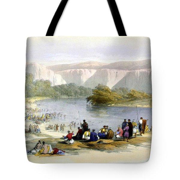 Jordan River Tote Bag