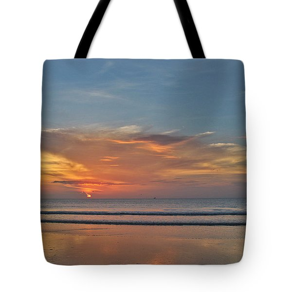 Jordan's First Sunrise Tote Bag