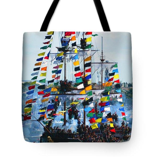 Jose Gasparilla Ship Work B Tote Bag
