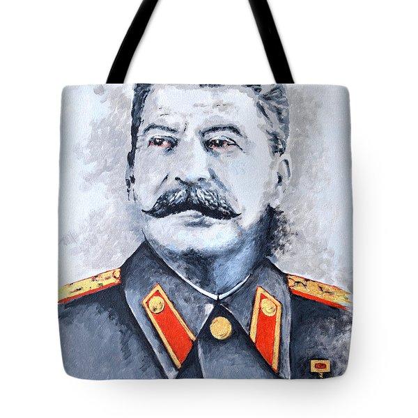 Joseph Stalin Tote Bag