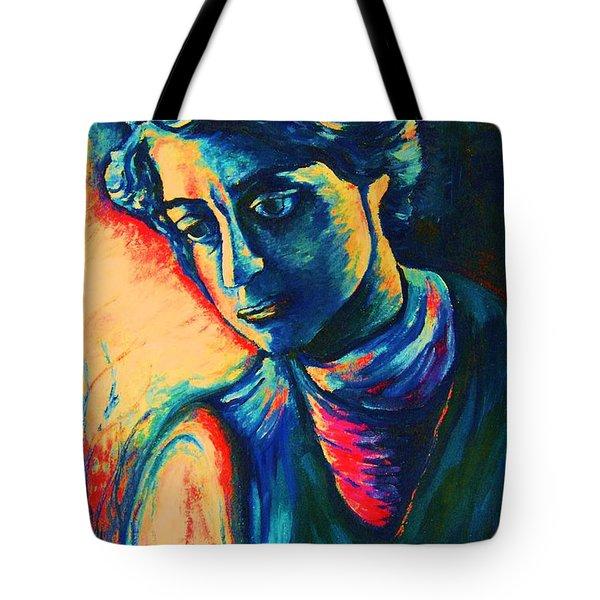 Joseph The Dreamer Tote Bag by Carole Spandau