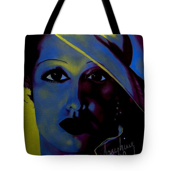 Josephine Baker Tote Bag by Chelle Brantley