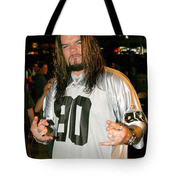 Tote Bag featuring the photograph Josey Scott by Don Olea