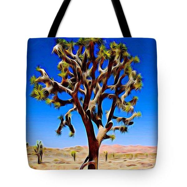 Joshua Tree Dark Tote Bag