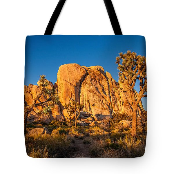 Joshua Tree Sunset Glow Tote Bag