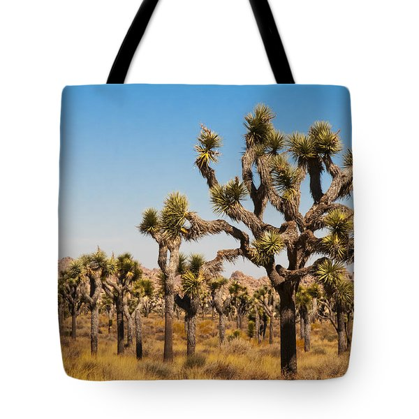 Tote Bag featuring the photograph Joshua Trees  by Penny Lisowski