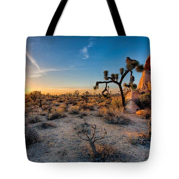 Joshua's Sunset Tote Bag