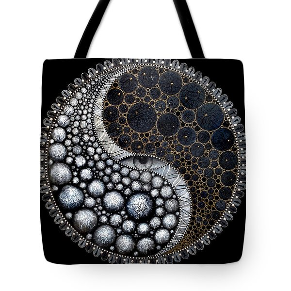Tote Bag featuring the digital art Self Awareness by James Lanigan Thompson MFA