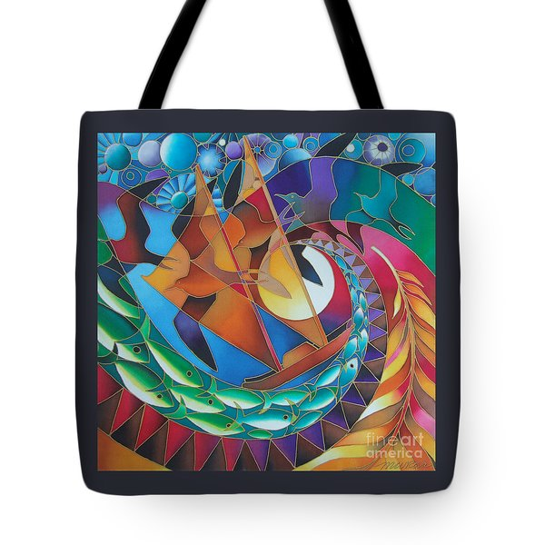 Journey Of The Vaka IIi Tote Bag