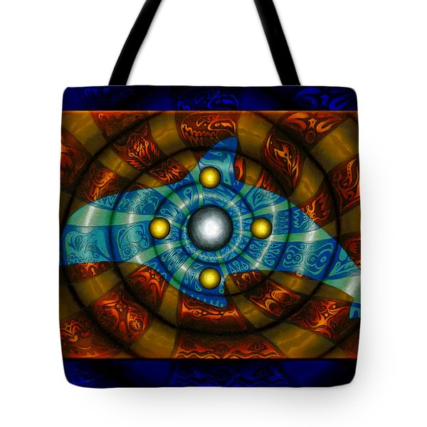 Journey To The Center II Tote Bag