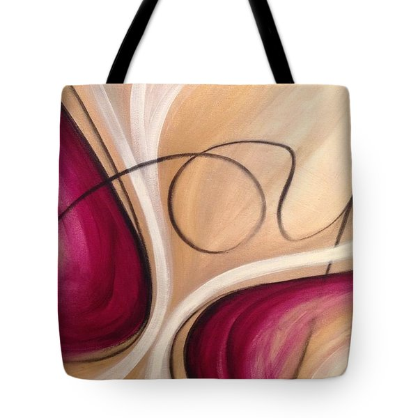 Joy And Strength Dance Together Tote Bag