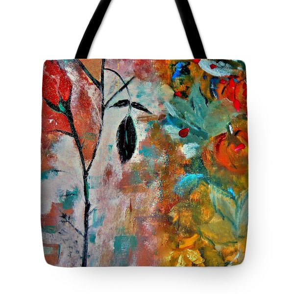 Tote Bag featuring the painting Joy by Lisa Kaiser