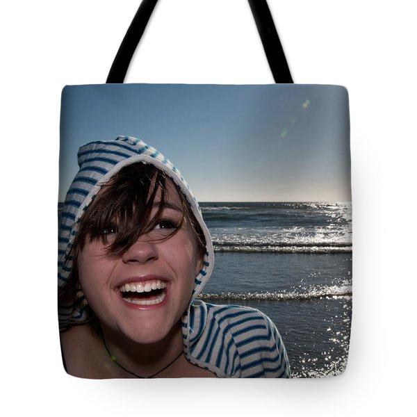 Joy Tote Bag by Lisa Knechtel