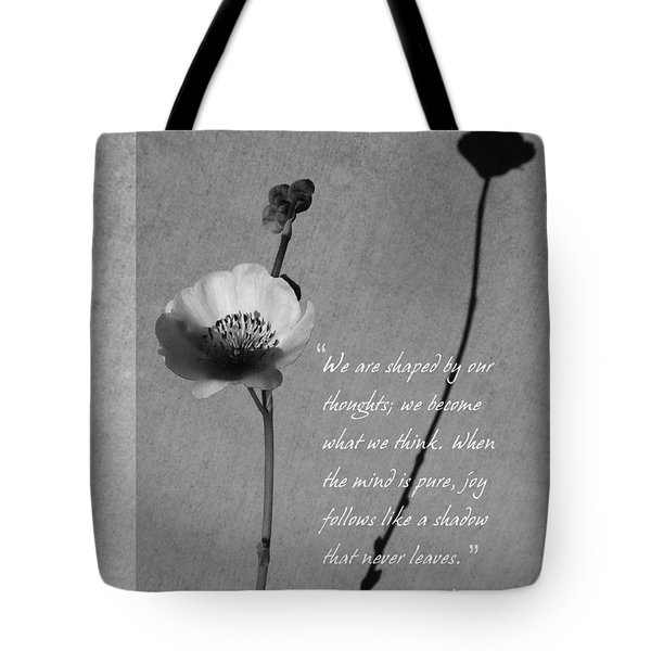 Joy Of Life Tote Bag by Xueling Zou