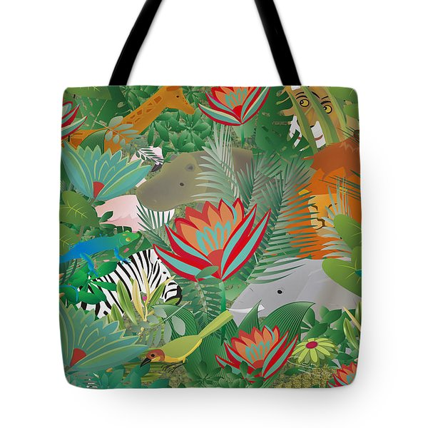 Joy Of Nature Limited Edition 2 Of 15 Tote Bag by Gabriela Delgado