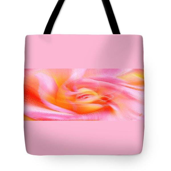 Joy - Rose Tote Bag