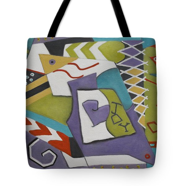 Joy Tote Bag by Trish Toro