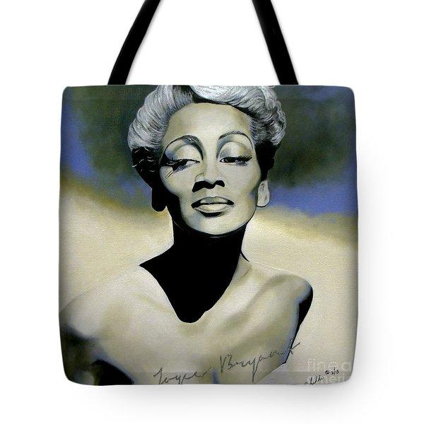 Joyce Bryant  Tote Bag
