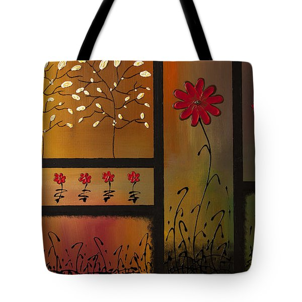 Joyful Garden Tote Bag