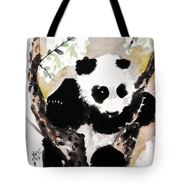 Tote Bag featuring the painting Joyful Innocence by Bill Searle