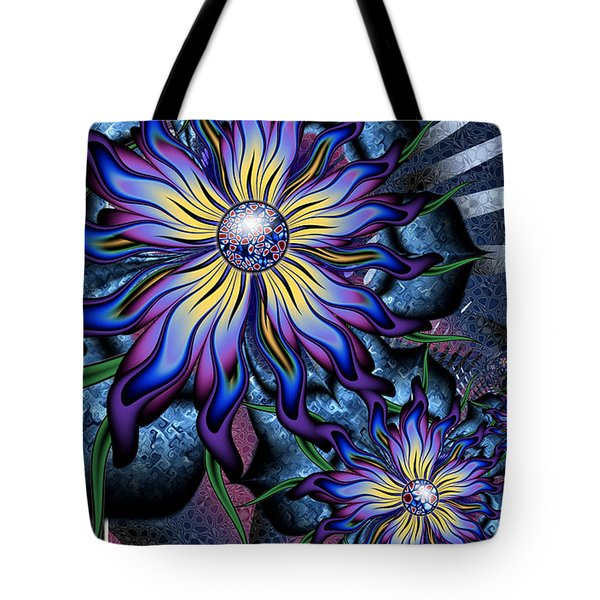 Joyful Julia Tote Bag by Kim Redd