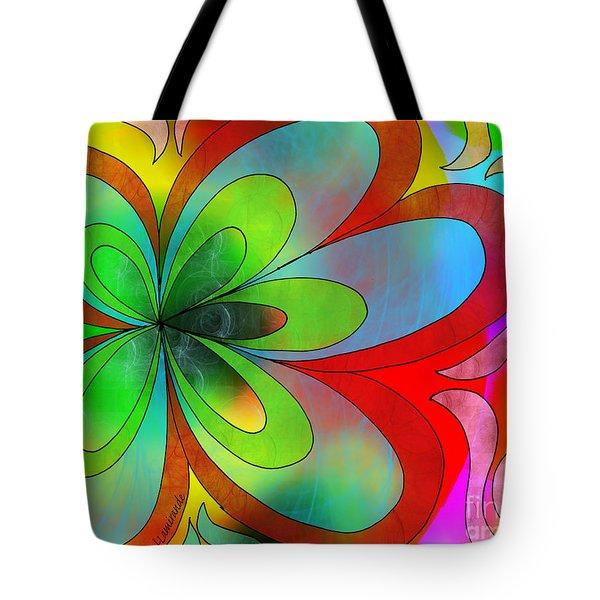 Joyful Peace - Paix Joyeuse Tote Bag by Louise Lamirande