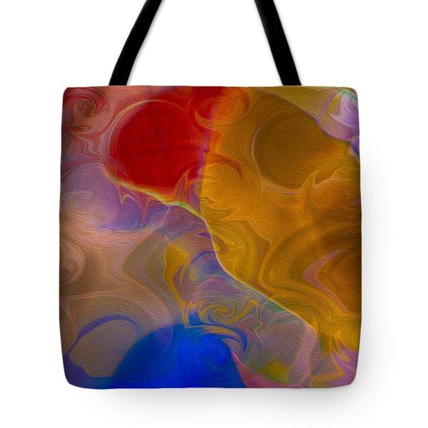 Joyful Sorrow Tote Bag by Omaste Witkowski
