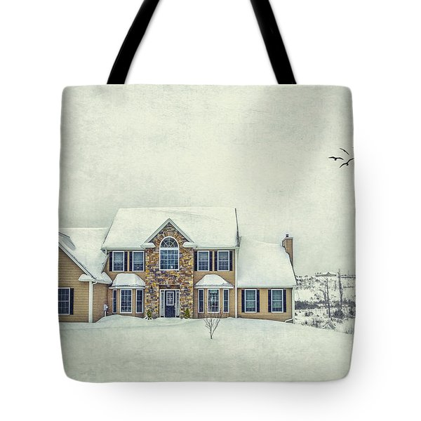 Joyless Trance Of Winter Tote Bag
