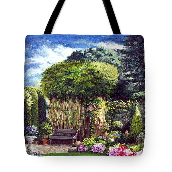 Joy's Garden Tote Bag