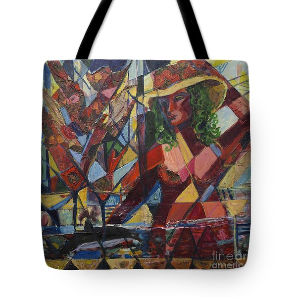 Joys Intended Tote Bag by Avonelle Kelsey