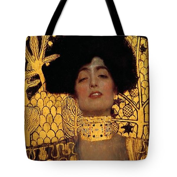 Judith And The Head Of Holofernes Tote Bag