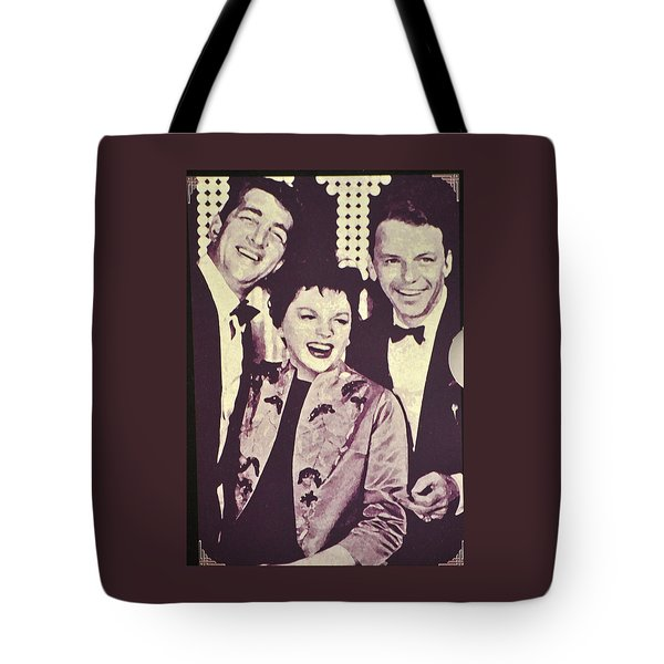 Judy Garland And Friends Tote Bag by Jay Milo