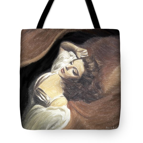 Judy Garland - Beauty Dream Tote Bag by Angela A Stanton