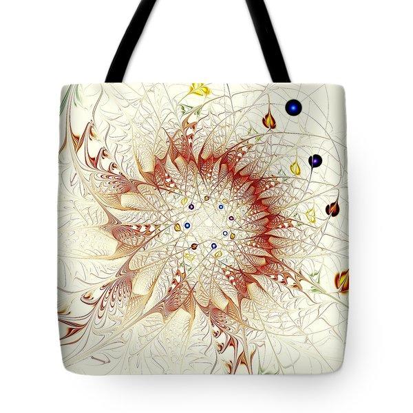 Juggle Tote Bag by Anastasiya Malakhova