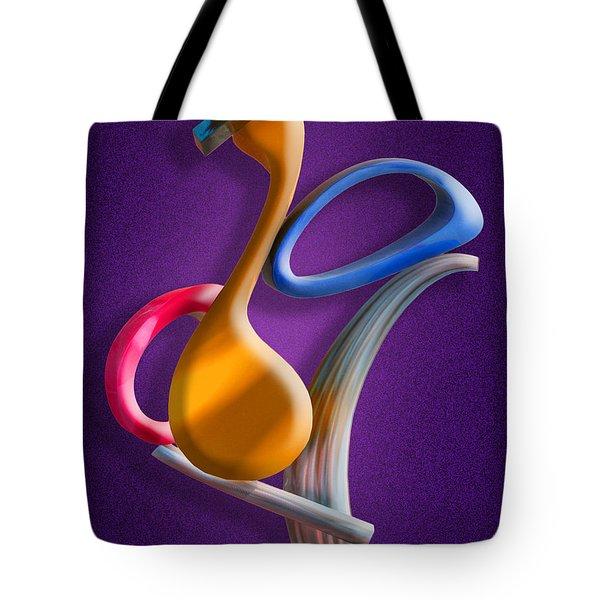 Juggling Act Tote Bag by Paul Wear