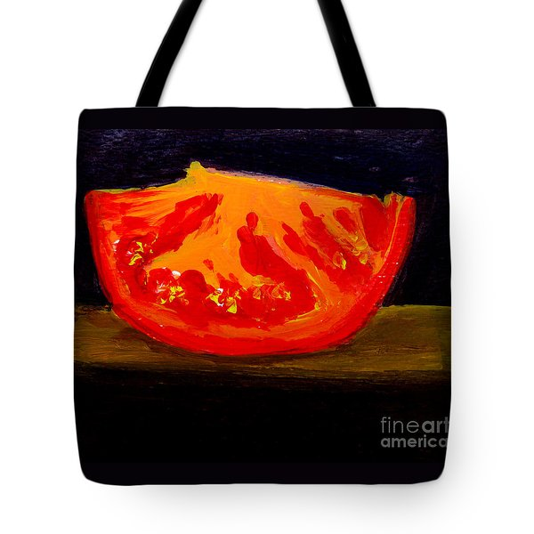 Juicy Tomato Modern Art Tote Bag