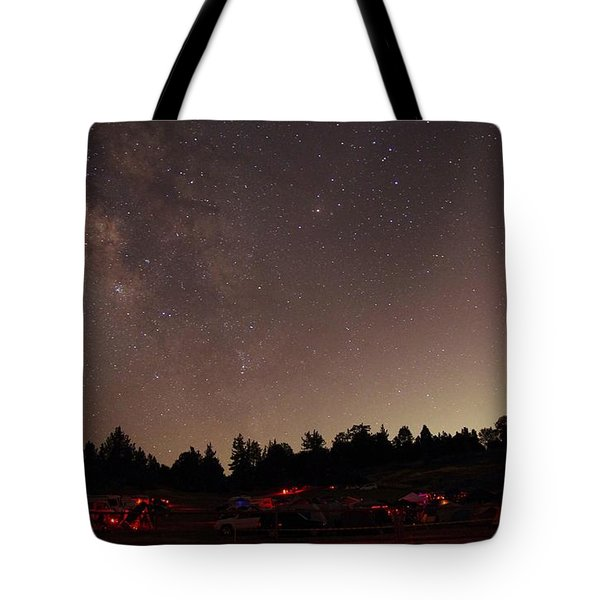Julian Night Sky Milky Way Tote Bag