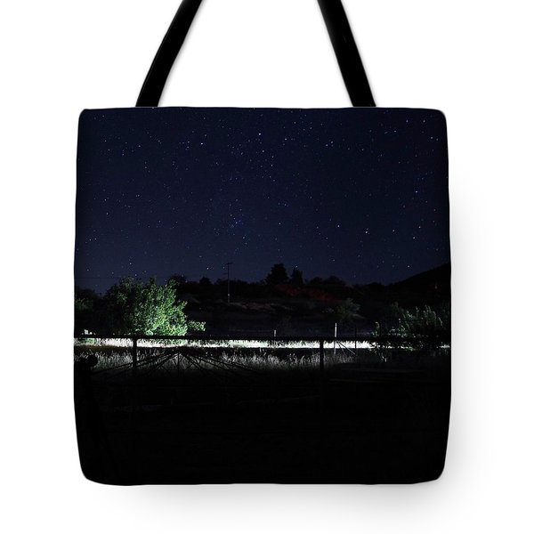 Julian Night Sky Tote Bag