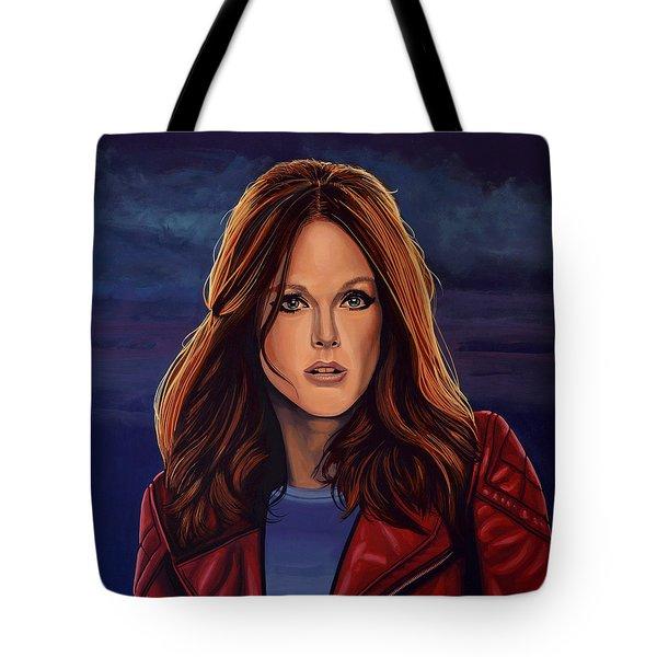 Julianne Moore Tote Bag by Paul Meijering