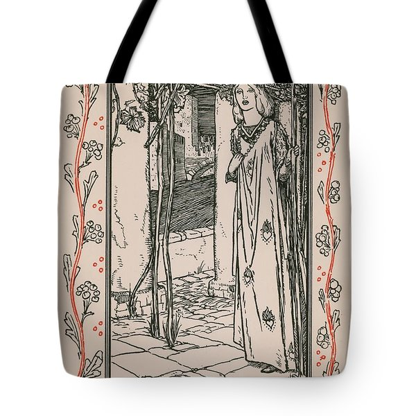 Juliet From Romeo And Juliet Tote Bag