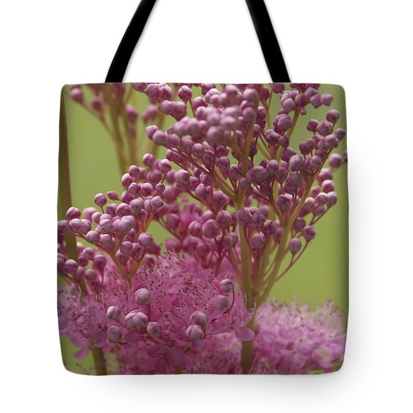 July Astilbe Tote Bag